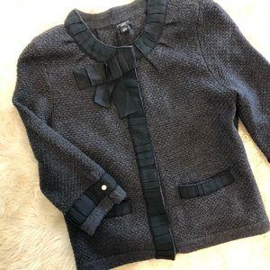 Ann Taylor Petite Merino Wool Cardigan
